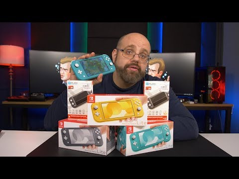 The ULTIMATE Nintendo Switch Lite Unboxing