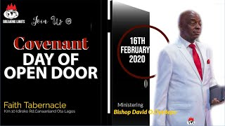 DOMI STREAM: COVENANT DAY OF OPEN DOOR SERVICE | 16th, FEB. 2020