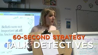 60-Second Strategy: Talk Detectives