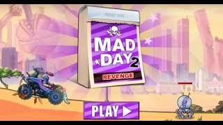 Mad Day 2 Revenge BOSS 1-5 with Game-Link in HD