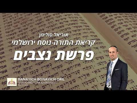 נצבים בנוסח ירושלמי