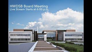 HWDSB Board Meeting – Live Stream Tonight