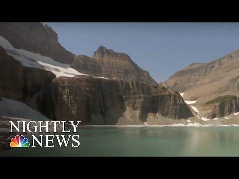 How Climate Change Is Wiping Out This National Park   NBC Nightly News