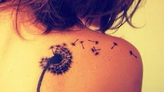 Tattoos For Girls | DANDEION TATTOO DESIGNS FOR WOMEN  / Tattoos Update/ Nice Tattoos For Girls