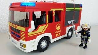 Playmobil Löschfahrzeug 5363 Feuerwehr auspacken seratus1 unboxing