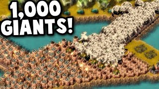 1,000 GIANTS in this FINAL WAVE?!!  | They Are Billions Custom Map Gameplay