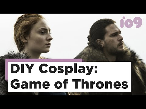 DIY Cosplay: How to Make a Game of Thrones Cloak