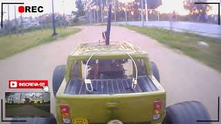 FPV da Tarde com Automodelo Off Road Dhk Maximus FPV RC CAR #automodelismo