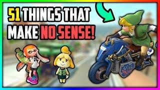 51 Things in Mario Kart that make NO SENSE!