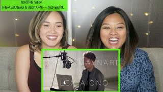 Reaction Video - Conor Maynard & Alex Aiono Cover Cold Water by Justin Bieber