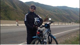 Кирилл, велопрогулка на Иссык Куль 24 06 2017