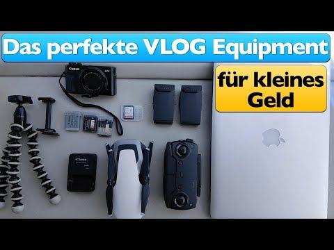 Das perfekte Vlog Equipment für kleines Geld 🎥