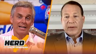 Cam is taking all the risk with Pats, talks safety during COVID — Eric Mangini   NFL   THE HERD