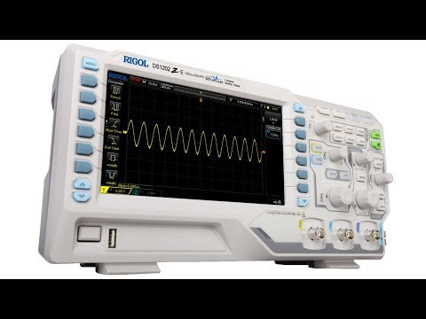 RIGOL's DS1202Z-E Digital Oscilloscope