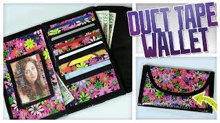 DIY Duct Tape Wallet/Clutch! - Do It, Gurl