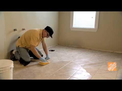 Cómo enlechar un piso de baldosas