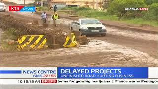 Traders count losses as sh.eight billion Kakamega-Kisumu highway remain stalled