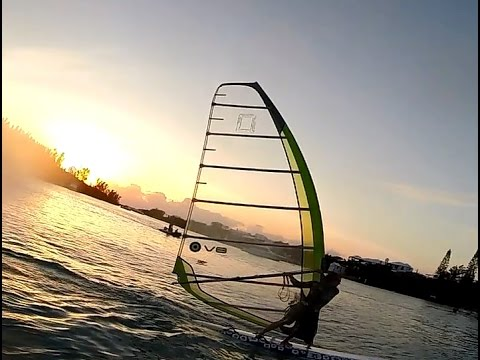 Bermuda Windsurfing – Phantom 377 – Kona One – Summer Longboard Sessions