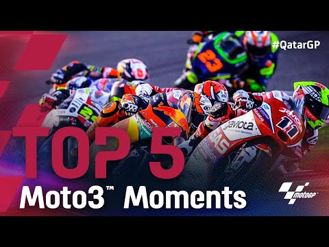 Moto3 2021 第1戦カタールGP 決勝レースのハイライト動画