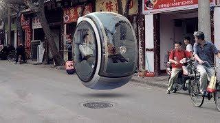 اختراع مدهش سيارة المستقبل التي ادهشت الجميع ليس لديها عجلات لأنها تمشي في الهواء, أذكى سيارة في ...