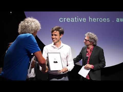 Winnaars tweede editie Creative Heroes Awards