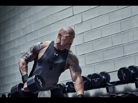 Dwayne Johnson: Build The Belief. Project Rock | Under Armour Campaign