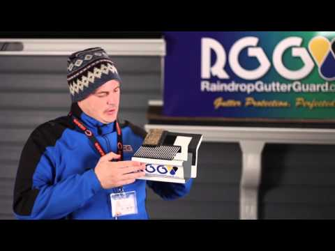 Carl Barnett of Windows Gleam & Gutters Cleaned | Review of the RainDrop Gutter Guard System