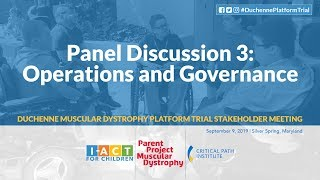 DPT Meeting: Panel 3 – Operations & Governance
