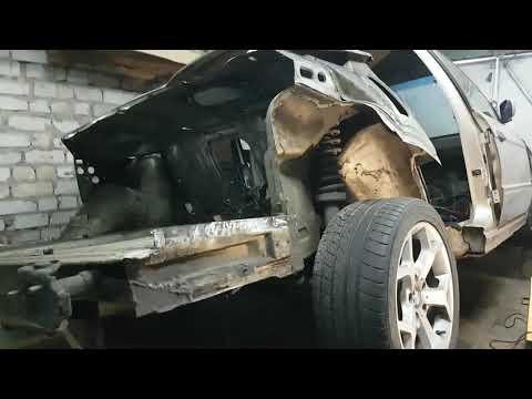 Кузовной ремонт на БМВ Е34 (1994 г в , М50В25ТУ, растайлинг) - часть 3