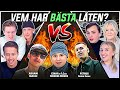 VEM HAR BÄSTA LÅTEN? (Einar x 1.Cuz, Adaam, Petrus)   Swedish Rap Reaction   #11