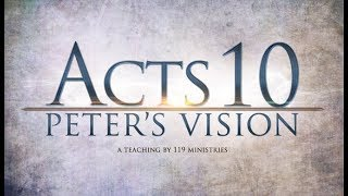 Acts 10: Peter's Vision
