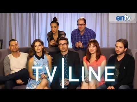 Nikita - Comic-Con 2013 - Cast Interview with TVLine