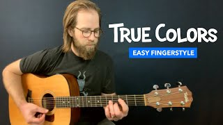 Guitar lesson for 'True Colors' from Trolls (Justin Timberlake & Anna Kendrick)