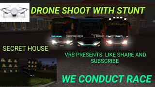 RACE WITH DRONE SHOOT AND STUNT | VRS PRESENTS