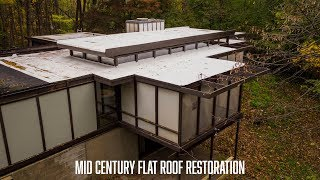 Flat Roof Restoration Video