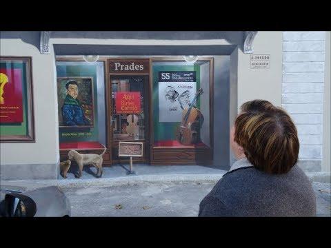 A-Fresco Patrick Commecy Fresques murales Prades Le Présent et le Passé 29 novembre 2017