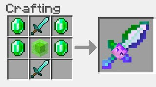 I Crafted YouTuber Swords In Minecraft! (Jelly, Dream, Preston)