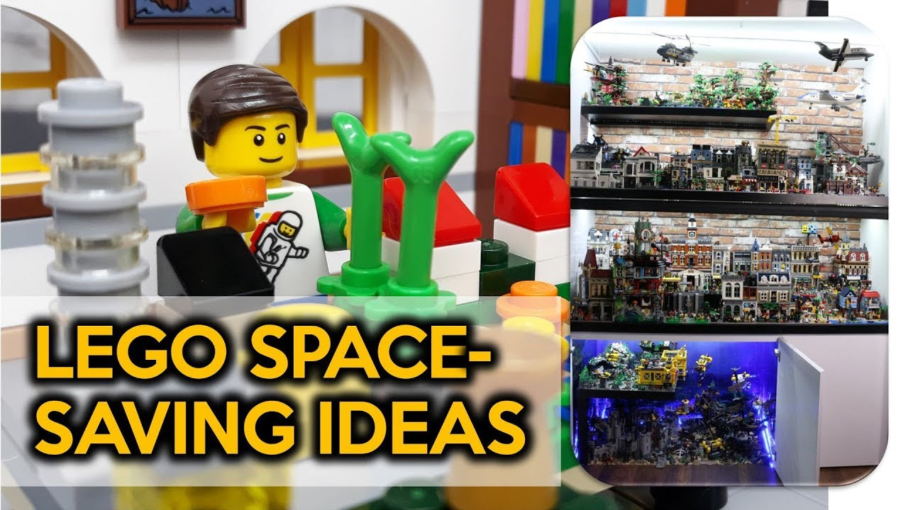 How to Maximize Space for a LEGO City (Even When You Don't Think You Have Space)