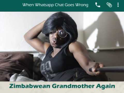 When Whatsapp Goes Wrong - Zimbabwean Grandmother