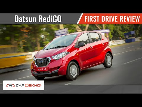 Datsun RediGO | First Drive Review