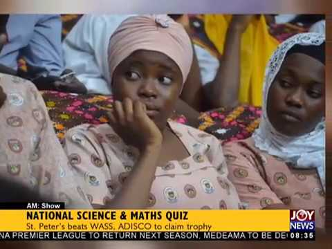 National Science And Maths Quiz 2018 - AM Show on JoyNews (6-7-18)