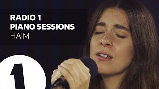 HAIM - Show Me Love (Robyn Cover) - Radio 1 Piano Sessions