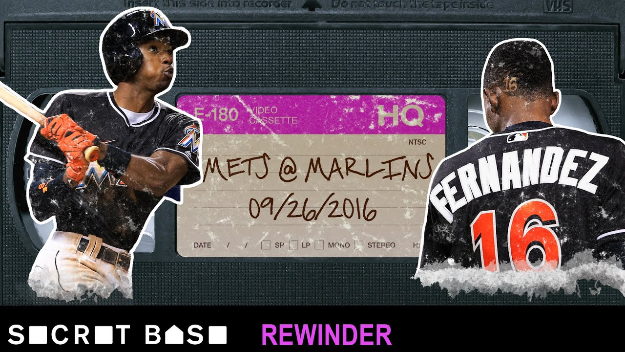 Dee Gordon's emotional home run for Jose Fernandez deserves a deep rewind thumbnail