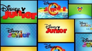 Compilation Of Channel Breaks | Disney Junior Spain Continuity - July 30, 2017 [Without Ads]