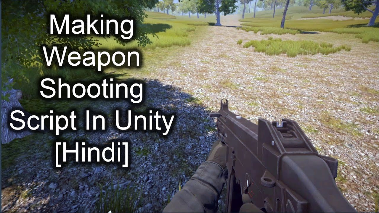 How to make weapon Shoot in unity | Unity Hindi tutorials | Unity FPS game series Part 3