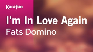 Karaoke I'm In Love Again - Fats Domino *