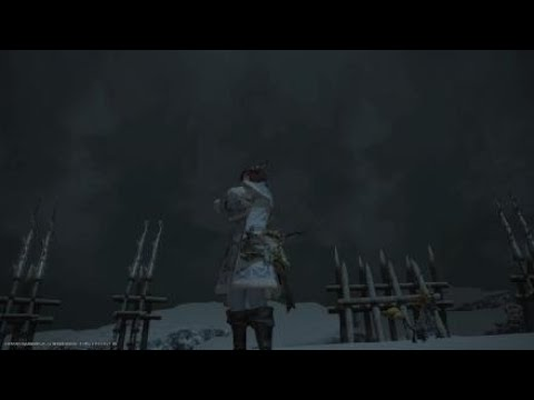 FFXIV - Seiryu Ex run + Hallowed Kamuy Fife drop - CUTS3R - Video