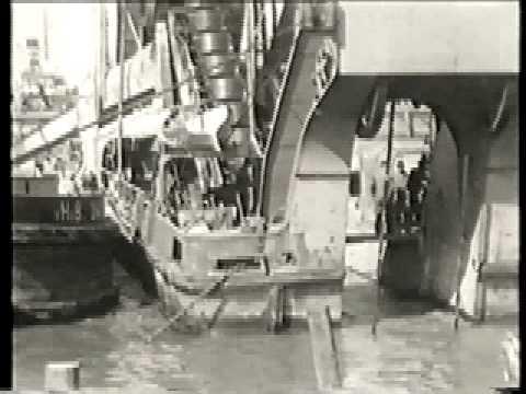 de bouw van de Maastunnel