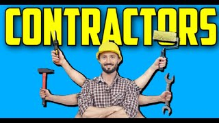 Working With Contractors | How To Find & Keep A GREAT Contractor