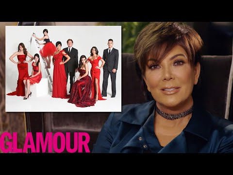 Kris Jenner Explains The Kardashian's Crazy Christmas Cards | Glamour